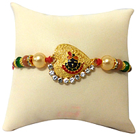 A Mersmerizing Rakhi of Lord Krishna