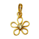 Anjali's Lively Shimmer (18K) Diamond Pendant