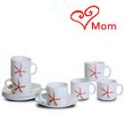 Drink Tea with LaOpala Tea Cup Saucer Set