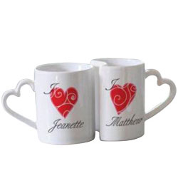 Love You Personalised Mugs