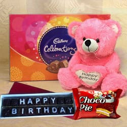 Remarkable Happy Birthday Chocolates Gift Hamper