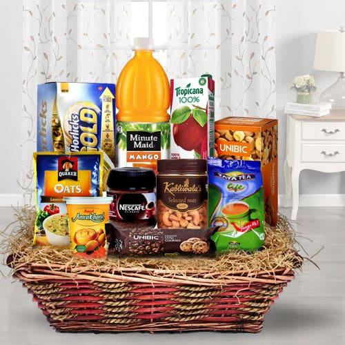 Heavenly All Time Favorite Breakfast Gift Basket