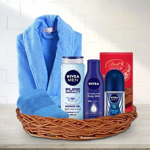 Luxury Gift Basket of Assortment for Men