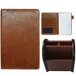 Glamorous Team of Multipurpose Passport Holder with Pen Stand
