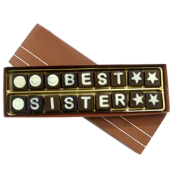 Mouthwatering Best Sister Chocolate (18pcs) Pack