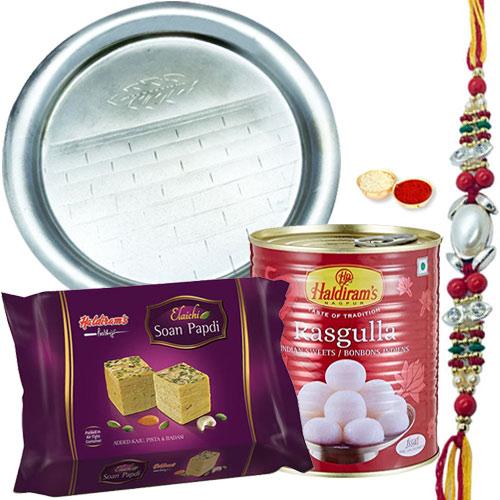 Thali Hamper N Haldirams Sweets