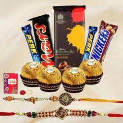 Caress-with-Sugar Raksha Bandhan Assembly