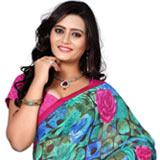 Resplendent Weightless Printed Saree