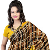 Smart Faux Georgette Printed Saree