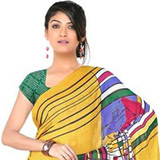 Beaming Grace Chiffon Saree