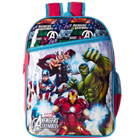 Delightful Avenger Design Red and Blue Group Bag