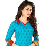 Trendy Chiffon and Cotton Printed Salwar Suit from Welcome Brand