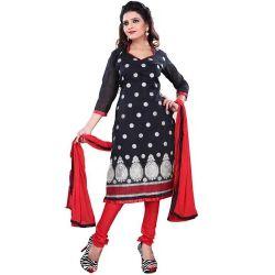 Elegant New Collection of Printed Black Cotton Salwar