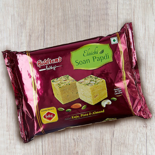 Exclusive 1/2 Kg Soan Papdi Soan Papdi from Haldiram
