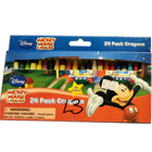 Disney Mickey Mouse Plastic Crayons