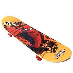 Charismatic Spider-Man Skate Board