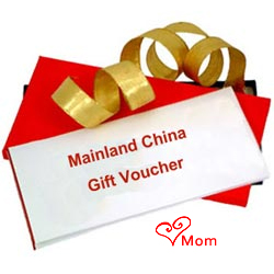 Mainland China Gift Vouchers Worth Rs.2000