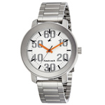 Fastrack Gents Watch with Stainless Steel Body and Straps