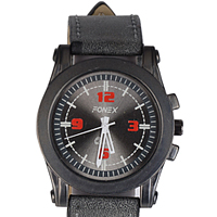 Dazzling Present of a Black Color Gents Wrist Watch