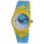 Fantastic Blue and Yellow Wrist Watch for Kids Brought to You by Titan Zoop